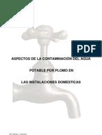 Aspectos de la contaminación del agua potable por plomo en las instalaciones domésticas