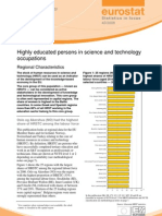 Highly educated persons in science and technology occupations