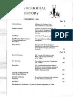Aboriginal History V17