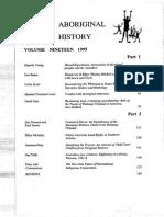 Aboriginal History V19