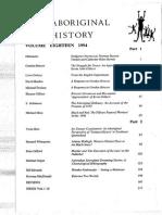 Aboriginal History V18
