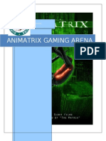 Animatrix Gaming Arena Marketing Plan
