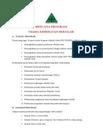 Rencana Program Uks Sdn Tempeh Lor 01