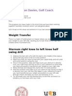 Feedback Document Lesson Two