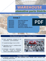 Parts Warehouse Company Presentation