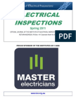 Electrical Inspections Spring 2011