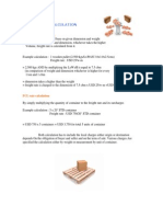 Freight Rate Calculation