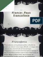 Franța-Țară francofonă