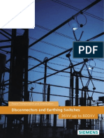 Siemens Disconnectors and Earthing Switches