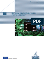 SECTORAL INNOVATION WATCH SYNTHESIS REPORT