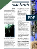 Landholder Notes Old Growth Forests