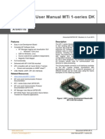 Mti-1-Series Dk User Manual