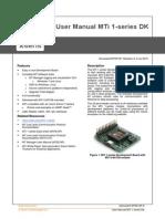 Mti-1-Series Dk User Manual