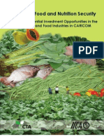 Investing in Food and Nutrition Security-CARICOM-2009