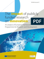 The impact of publicly funded research on innovation