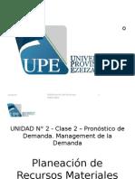 PMR - UNIDAD 2 - Clase 2 - Forecasting V1