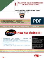 Relanzamiento Fast MARKETING DE PRODUCTO
