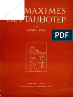 Maximes de Ptahhotep