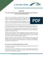 PNL susține o lege a salarizării unitare bazata pe profesionalism și echitate și nu pe calcule meschine electorale