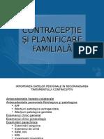 Contracepţie Şi Planificare Familială