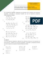 Hoja de Trabajo N° 02 Sistemas de Ecuaciones Lineales