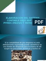 ELABORACION DE CATALOGO EN BASE A NIFF PYMES