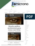 Diseño Gráfico Profesional Para Linux Con Krita - Omicrono