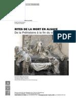 Rites de La Mort en Alsace