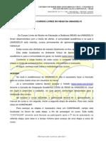 Manual-cursos Livres