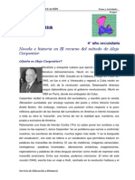 Novela e Historia Alejo Carpentier