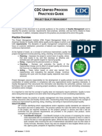 CDC UP Quality Management Practices Guide