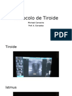 protocolo de tiroide