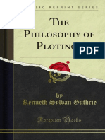 The Philosophy of Plotinos