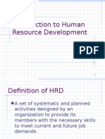 Intro to HRD