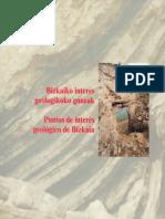 Puntos de Interés Geológico de Bizkaia