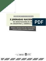 X Jornadas 2015-Programa