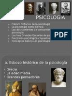 PSICOLOGÍA Como Ciencia , Ramas, Escuelas y Funsiones Básicas.
