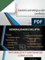 Gestión Estratégica Del Conflicto PRESENTACIÓN