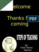 step of teaching
