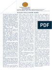 Boletin El Abrazo Nro. 38 del 10.05.2015