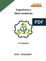 AUTO AVALIAÇÃO -Engenharia e Meio Ambiente