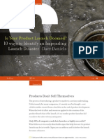 Is Your Product Launch Doomed? 10 Ways