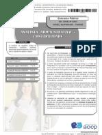 ANALISTA ADMINISTRATIVO - CONTABILIDADE-2013