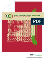 Cannabis Guidelines for First Aid Mental Health