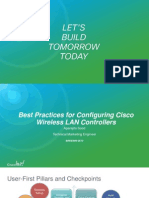 Cisco WLAN Best Practice