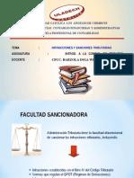 INFRACCIONES Y SANCIONES TRIBUTARIAS.ppt