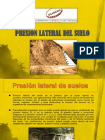 Presion Lateral Del Suelo Exposicion