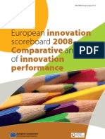 European innovation scoreboard 2008 - Comparative analysis of innovation performance