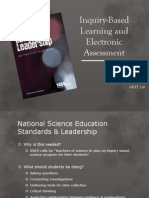 inquiry-based learning and electronic assessment