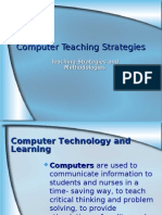 Computer Teaching Strategies